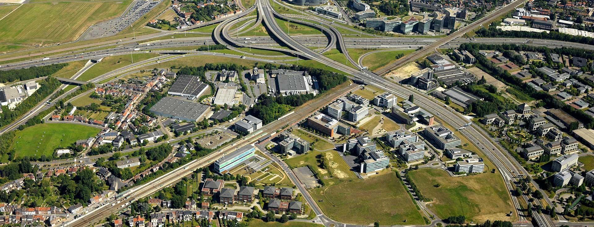 pegasus park luchtfoto